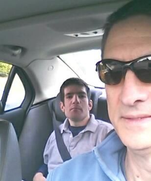 David, the backseat driver